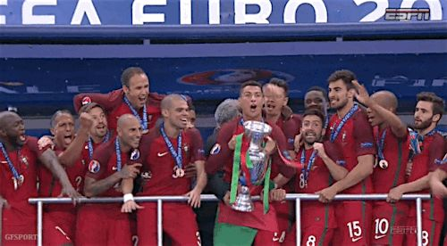 cristiano ronaldo euro2016 euro 2016 ronaldo portugal euro champions portugal champions trending #GIF on #Giphy via #IFTTT http://gph.is/29rvlW7