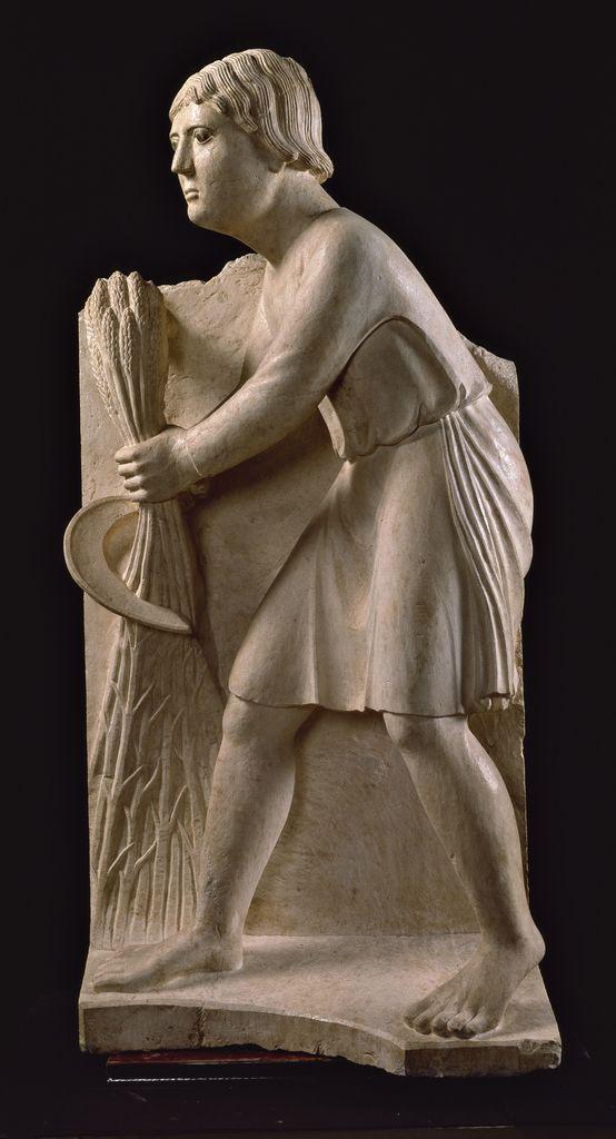 Battistero, Parma, Benedetto Antelami - Giugno - Ciclo dei Mesi, c. 1210-1215 ~ June
