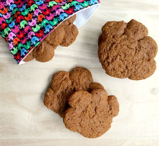 Bear Paws - classic old fashioned soft molasses cookies. The gentle spicing is wonderful (ginger and cinnamon) and the texture is just so perfect.