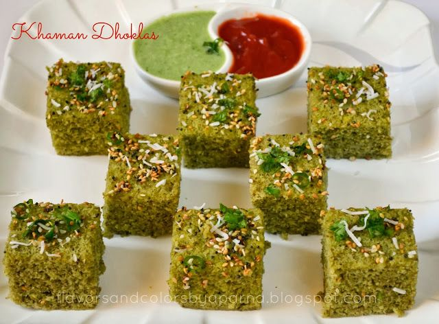 Green Moong Savory Cake/ Khaman Dhoklas - Grain free Gluten Free Indian Food, SNac, Appetizer