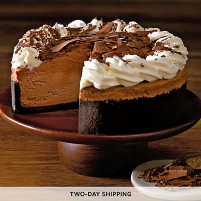 The Cheesecake Factory® Chocolate Mousse Cheesecake delivered right to your door. Exclusively from Harry & David, the online seller of The Cheesecake Factory cheesec