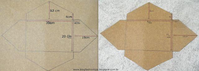 FASHION TIPS: DIY: Bolsa Envelope
