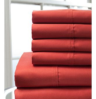 Elite Home Products 800-Thread Count Luxury Manor 6-pc. Cotton Rich Sheet Set