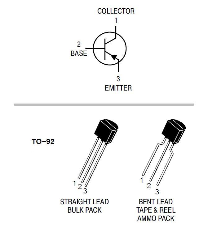 Pnp Transistors   Bc557    Bc558    Bc559    Bc560