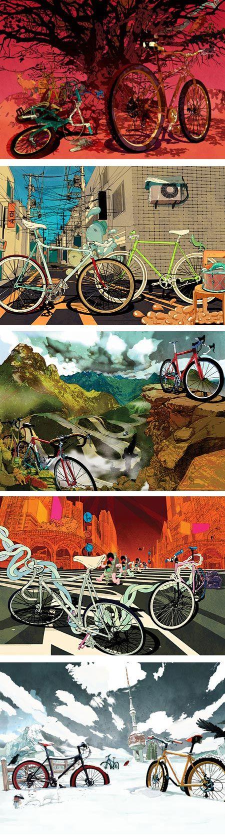 ilovedust bike illustrations
