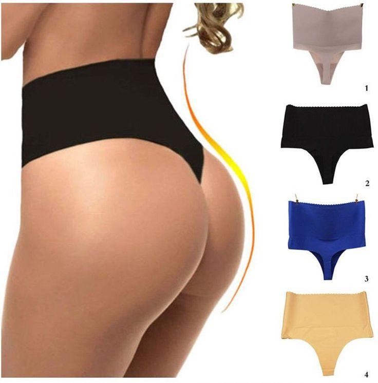 Womens Sexy Tummy Control High Waist Body Shapewear Briefs