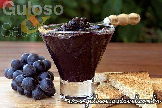 Aqui vai mais uma opção deliciosa e leve seja para o seu café da manhã ou para um lanchinho, a Geleia de Uva Diet! É deliciosa de saborear seja na ...