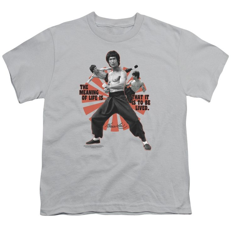 """Checkout our #LicensedGear products FREE SHIPPING + 10% OFF Coupon Code """"Official"""" Bruce Lee / Meaning Of Life - Short Sleeve Youth 18 / 1 - Bruce Lee / Meaning Of Life - Short Sleeve Youth 18 / 1 - Price: $29.99. Buy now at https://officiallylicensedgear.com/bruce-lee-meaning-of-life-short-sleeve-youth-18-1"""
