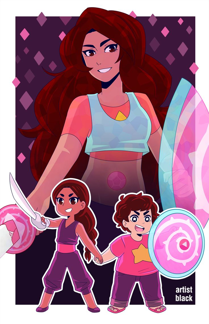 Connie's sword skills plus Steven's shield skills equals Stevonnie being the most bossicle warrior ever.