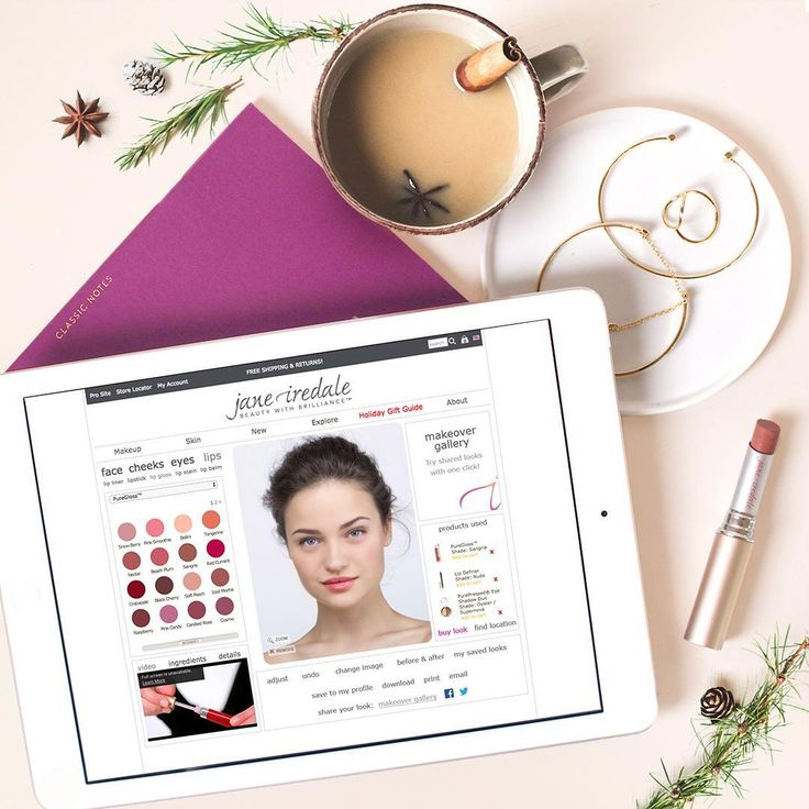 Not sure which shade, style, or beauty trend is for you? Use our Virtual Makeover Room to help you decide which products to purchase, or which shades to wear out tonight! #beautytip