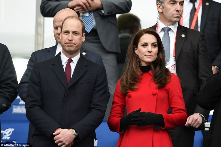 Gutted: William looked devastated as France scored in the dying seconds and snatched victory from his beloved Wales