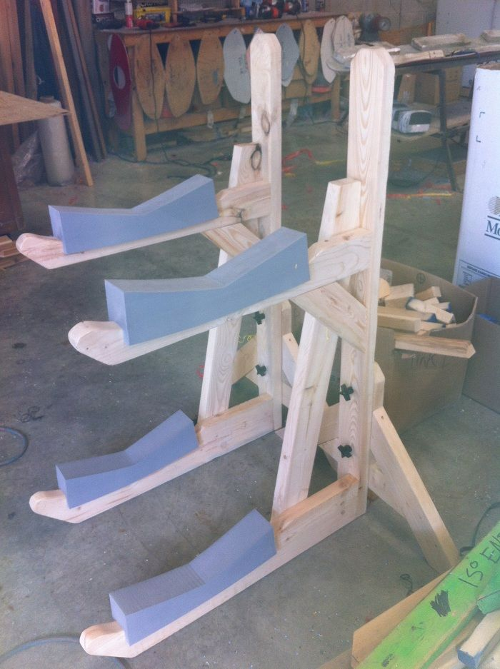 Build Boat: Cool Diy kayak canoe rack