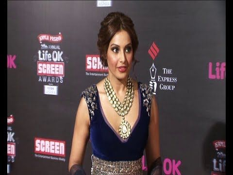 Bipasha Basu   Red Carpet of LIFE OK SCREEN AWARDS 2014.