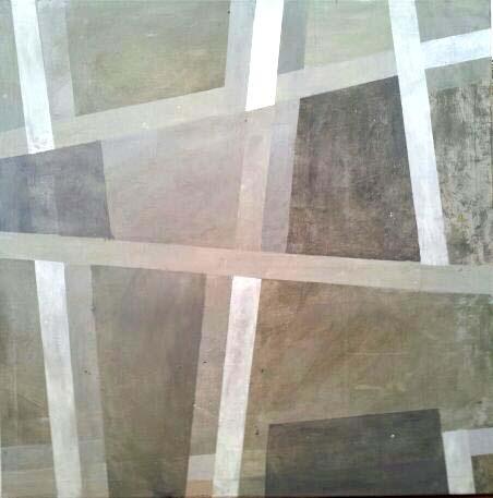 Abstrak2. Acrylic on canvas. 90cmx90cm.