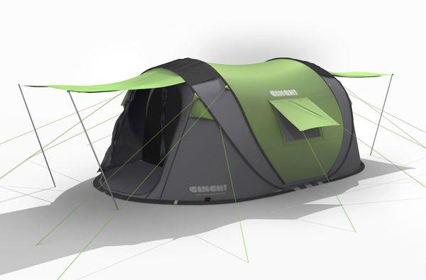 4 Man tent u2013 Cinch Pop up Tents //c&ingtentlover.com/  sc 1 st  Pinterest & Best 25+ 4 man tent ideas on Pinterest | Buy tent Survival tent ...