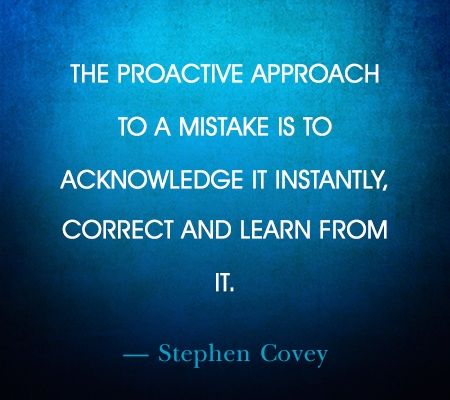 stephen covey quote on being proactive