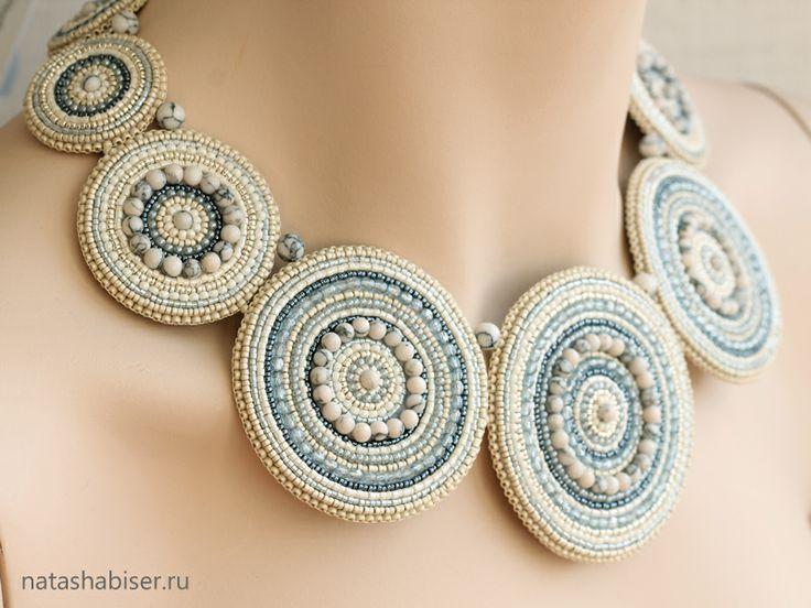 NatashaBiser.ru - украшения из бисера, украшения ручной работы, купить украшения, продажа украшений - Колье (0333)