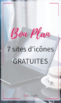 7 sites d'icönes Gratuites #icone #gratuite #design #bonplan #free #graphicdesign