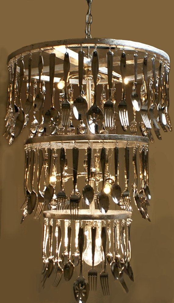 We Think This Is An Astoundingly Great Way To Upcycle Old Cutlery One