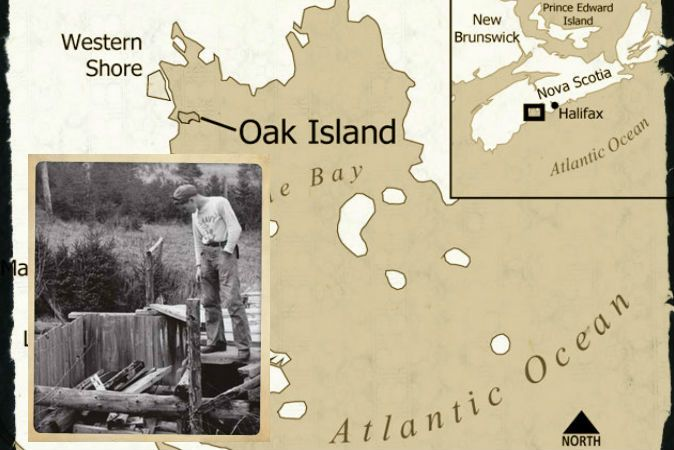 The Lost Treasure of Oak Island and the Centuries-Old Quest to Find It