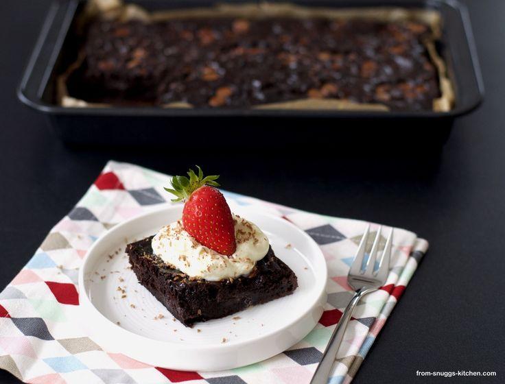 chocolate tres leches cake / schokoladen-milch-kuchen