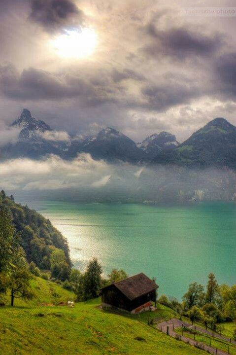 Switzerland - Will look to this picture whenever I am going crazy to see if helps me getting calm.