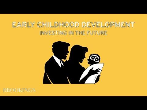 Tomorrow's Skilled Workforce Requires Investing in Young Children Today: The Importance of Early Childhood Development | Brookings Institution