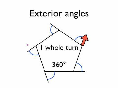 G7 Exterior Angles Triangle Finding the Unknown Angle - YouTube