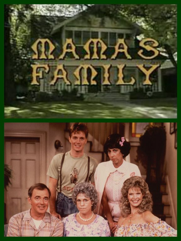 Mama's Family (1983–1984, 1986–1990) Vicki Lawrence, Ken Berry, Dorothy Lyman, Allan Kayser, and Beverly Archer