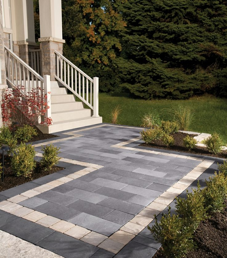 Belpasso® entrance with Richcliff® border