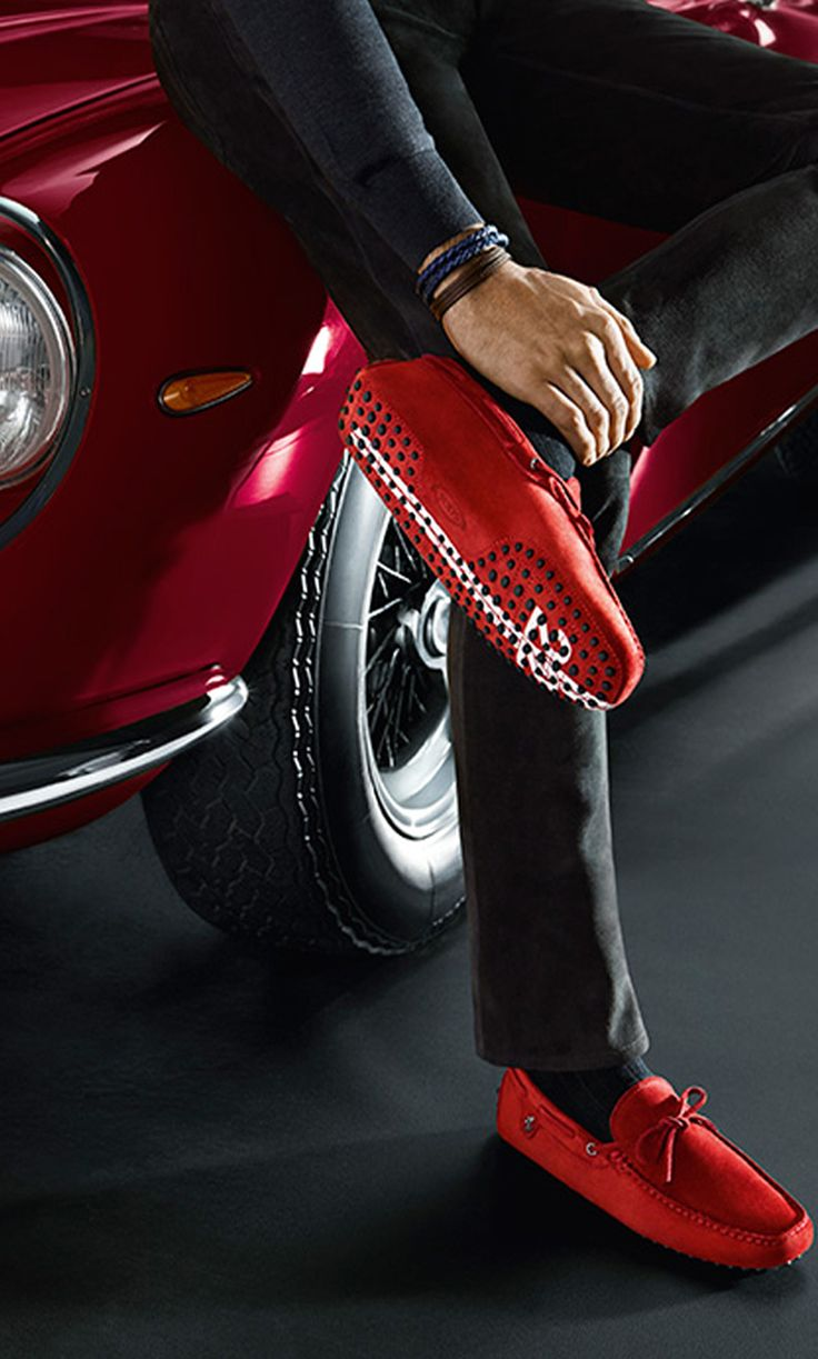 Tod's for Ferrari fw 2014 #tods #shoes #men ABSOLUTELY! !!