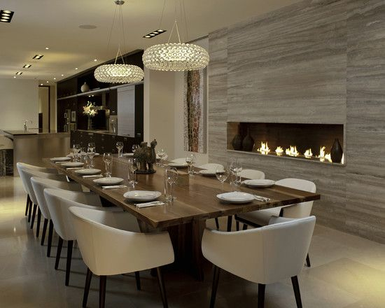 Modern Dining Room Design, Pictures, Remodel, Decor and Ideas - page 10