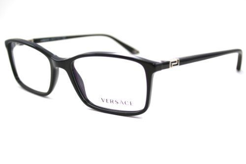 deac18b2b1 Versace Eyeglasses VE 3163 BLACK GB1 VE3163 by Versace.  125.00. Original  Packaging. Original Case.  BRAND introduced modern  USAGE fram…