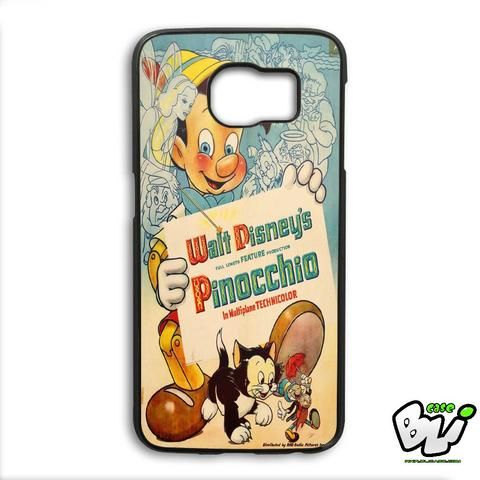 Pinocchio Inspired Vintage Samsung Galaxy S6 Edge Case