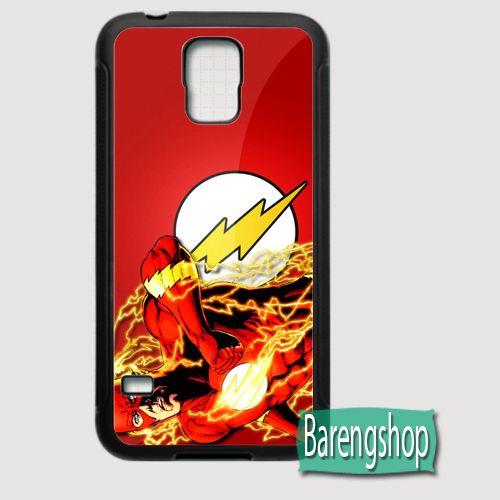 Rubber Case Flash Case Comics Custom Samsung Galaxy S5 Case