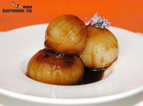 Cebollitas glaseadas con salsa hoisin   Gastronomía & Cía