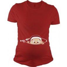Christmas Baby Peeking Shirt