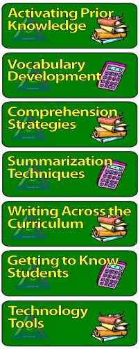 teach 21 strategy bank~resource for eductors; multitude of research-based strategies to make classroom instruction more effective, and to address the needs of diverse students