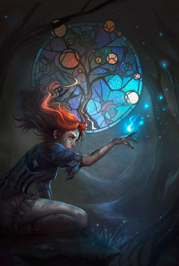 awesomedigitalart: Panacea Cover Art by...