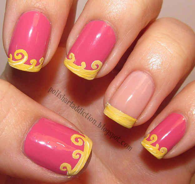 Dress Disney Princess Nails: Best 25+ Disney Nails Art Ideas On Pinterest