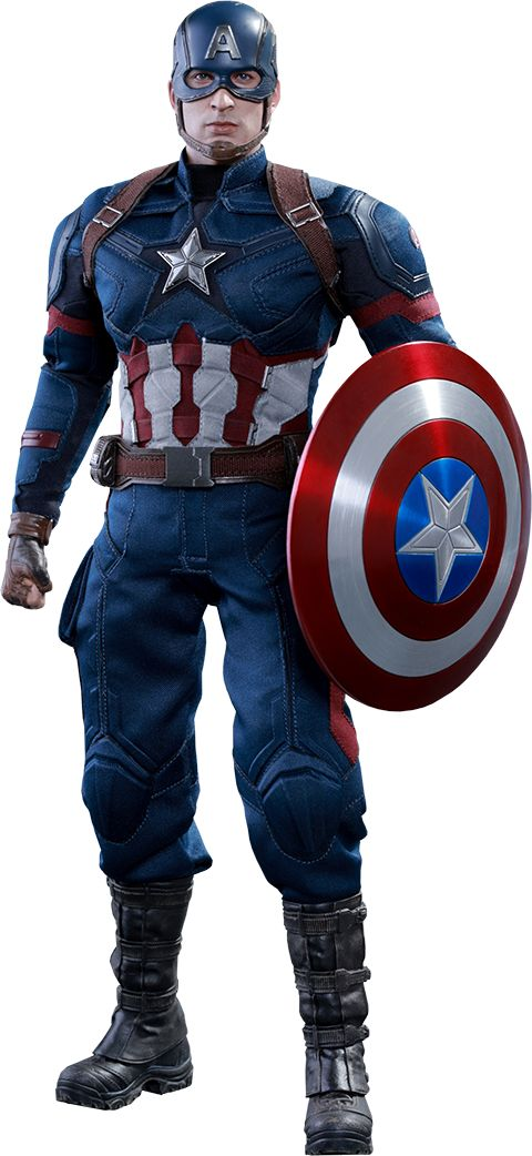 Captain America Civil War: Captain America figure by Hot Toys