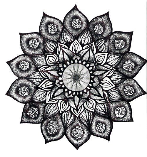 sunflower mandala - I've been waiting for this. next tattoo :))