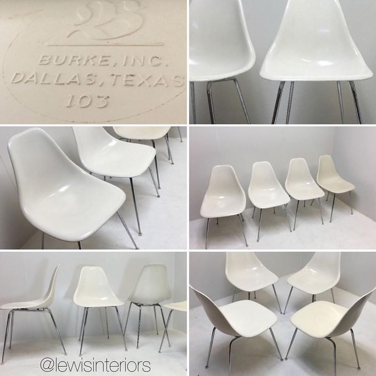 **Antique Vintage Mid Century Modern Fiberglass Burke Shell Chairs Set 4 Eames Era** Excellent vintage condition - some wear on the edges, some surface scratching, excellent patina. Built to last forever.  Special local Phx, AZ pickup price $399.  DM us to make an appointment for pickup. Also available in our eBay store.  www.lewisinteriors.com #lewisinteriors #modernvintageretro #vintage #retro #vintagefurniture #retrofurniture #burkechair #burkechairs #phoenix #arizona #phxaz…
