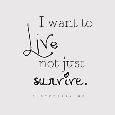 I want to live my life as normal as possible  not have this disease run my life! You don't run this mother, I do!!!!