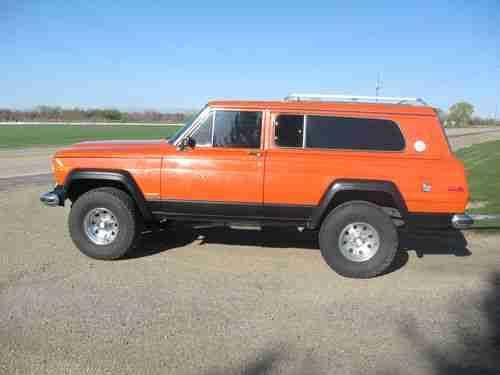 1978 Jeep Cherokee Chief 4 X 4