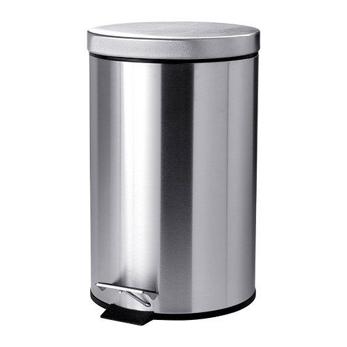 Deluxe Heavy Duty Stainless Steel 12 Litre Foot Pedal Waste Bin with Lid For Easy Opening Closing. Verdi http://www.amazon.co.uk/dp/B00SYXC5XK/ref=cm_sw_r_pi_dp_PPgZub04SA7JQ