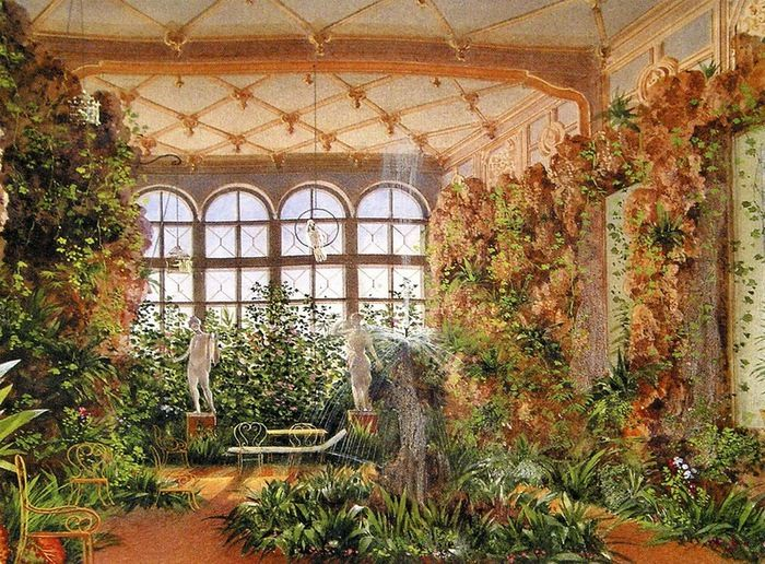 Indoor Gardening In Winter 18 best winter palaces indoor gardens images on pinterest chateaus aadkovsky winter garden yusupov palace workwithnaturefo