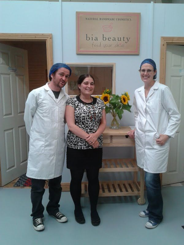 Meet team Bia Beauty - Tracey, Gav and Frances