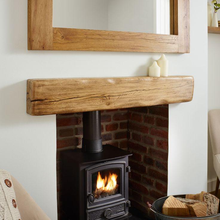 Best 25+ Oak mantel ideas on Pinterest | Fire surround ...