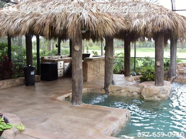 Tiki Bar Blueprints - WoodWorking Projects & Plans on Backyard Tiki Hut Designs id=12572